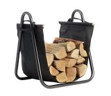 Log Holder with Canvas Carrier
