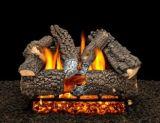 """18"""" Aspen Whisper Logs with Single Log Switch Pilot kit Burner Tube - LP"""