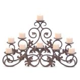 Venice Candelabra - Holds 10 Candles (Not Included)