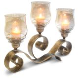Mayfair Candelabra - Holds 3 Candles (Not Included)