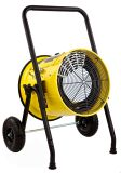 208-Volt Portable Fan Forced Electric Heater - Yellow