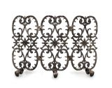 3-Panel Siena Fireplace Screen - Bronze