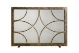 Ornamental Designs Adelaide Fireplace Screen - Bronze