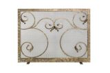 Ornamental Designs Elektra Fireplace Screen - Bronze