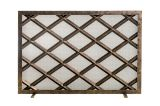 Ornamental Designs Fedora Fireplace Screen - Bronze