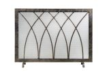 Ornamental Designs Hansel Fireplace Screen - Bronze