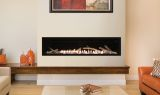 "Empire Boulevard 60"" Contemporary Linear Vent-Free Fireplace - NG"