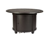 Well Traveled Living 62410 Longpoint Aluminum Round LPG Fire Pit