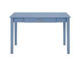 Walker Edison DW48MWDBU Home Office Wood Writing Computer Desk - Blue