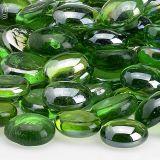AFG FB-EMELST-10 Emerald Green Luster Firebeads - 10 lbs.