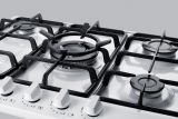 Summit GC5271WTK30 5 Sealed Burners Gas Cooktop in White
