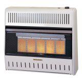 ProCom MG3TIR Ventless Infrared Dual Fuel Wall Heater - 3 Plaque