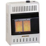 ProCom MG1TIR Ventless Infrared Dual Fuel Wall Heater - 1 Plaque