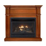 ProCom HNSD280T-B-AS Ventless 28K BTU Dual Fuel Fireplace