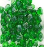 Enhance A Fire Large Iridesent Diamond Collection Fire Glass - Jade