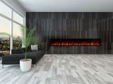 """Modern Flame Landscape 2 Series Built-in Electric Fireplace, 100 x 15"""""""