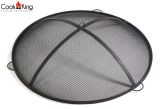 Cook King 111310 Black Steel Mesh Screen for Fire Bowl - 23.6""