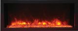 "Panorama Series 40"" Extra Slim Built-In Electric Fireplace w/ Surround"