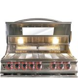 Cal Flame Built-In Top Gun Convection 5 Burner Gas BBQ Grill - LP