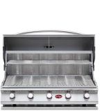 Cal Flame BBQ18G05 Built-In G Series 5 Burner Gas BBQ Grill - LP
