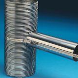 "Duravent 5"" Ventinox Universal Gas Take-Off - 8"" Length"