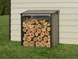 Arrow Firewood Rack 4 x 2 ft. Mocha