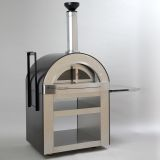 Forno Venetzia Torino 500 Oven with cart in Copper