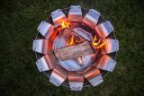 Desert Steel 410-501 Tanami Wood Burning Fire Pit - Stainless Steel