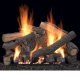 "18"" Ponderosa Vent Free Gas Logs with Intermittent Pilot - NG"