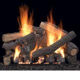 "24"" Ponderosa Vent Free Gas Logs with Millivolt Control - LP"