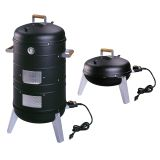 2 in 1 Electric Water Smoker that converts into a Lock 'N Go Grill