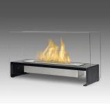 Eco-Feu TT-00176 Rio Decorative Fire Pit Table - Matte Black