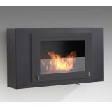 Eco-Feu WU-00172-BB Brooklyn Decorative Wall-Mounted Fireplace