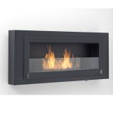 Eco-Feu WU-00182-BB Santa Lucia Decorative Wall-Mounted Fireplace