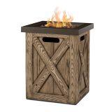 Real Flame Farmhouse LP Fire Column