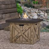 Real Flame Farmhouse LP Fire Table
