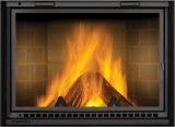 High Country 5000 ZA Wood Burning Fireplace w/Traditional Brick Panels