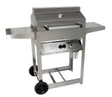 Phoenix SDRIV4LDDN Stainless Steel Riveted Grill Head on Cart - NG