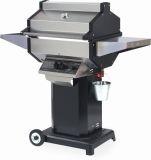 Phoenix SDBOCN Grill Head on Black Aluminum Pedestal Cart - NG