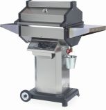 Phoenix SDSSOCN Grill Head on Stainless Steel Pedestal Cart - NG