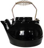 UniFlame C1927 2.5 QT Porcelain Coated Kettle - Black