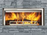 """Longmire Outdoor 42"""" Stainless Steel Radiant Wood Fireplace"""