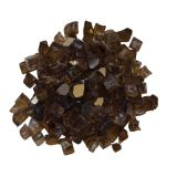 Remii Light Brown Reflective Fireglass - 1/2""