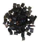 Remii Dark Grey Reflective Fireglass - 1/2""