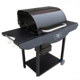 Smoke-N-Hot Basic Value Pellet Grill Black