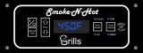Smoke-N-Hot Smoke-n-Hot Control Fascia for Meat Probe Controller