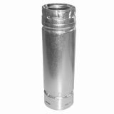 """US Stove SD3112 Duravent 4"""" X 12"""" Stainless Steel Straight Pipe"""