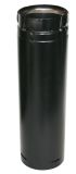 """US Stove SD3036B Duravent 3"""" X 36"""" Stainless Black Straight Pipe"""