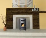 AP5780B Ashley Pellet Stove 65,000 BTU Led Dis With Remote Black
