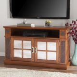 SEI MS0401 Marcell Media Console w/ Faux Stone